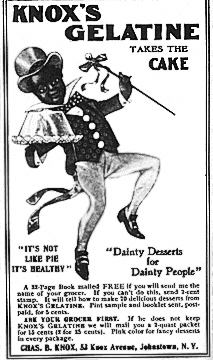 Knox Cakewalk Advertisement 1905