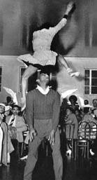 Frankie Manning & Freida Washington's aerial Lindy Hop